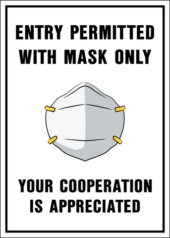 Entry with Mask Only