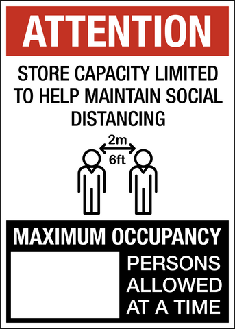 Physical Distance Max Occupancy