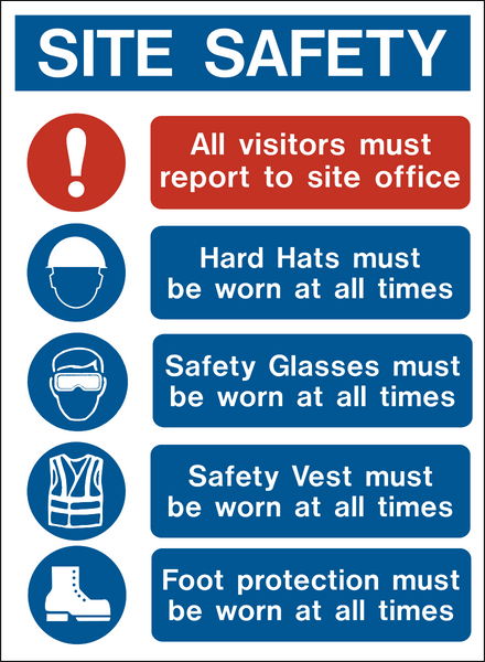 Site Safety Ppe Gh Western Safety Sign