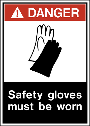 Danger - Hand Protection