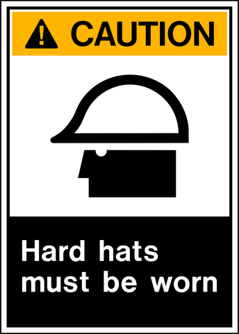Caution - Head Protection