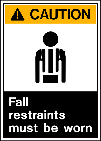 Caution - Fall Protection