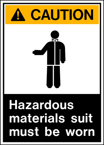 Caution - Protective Clothing