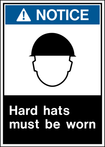 Notice - Head Protection