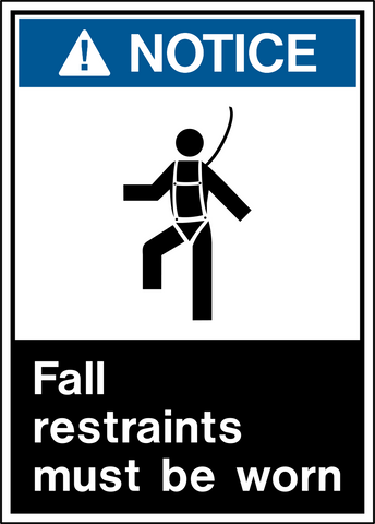 Notice - Fall Protection