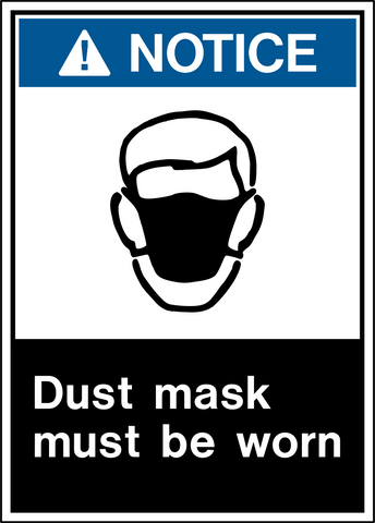 Notice - Dust Protection