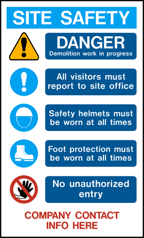 Site Safety PPE - B