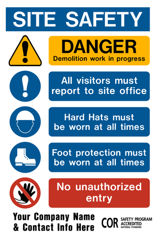 Site Safety PPE - A
