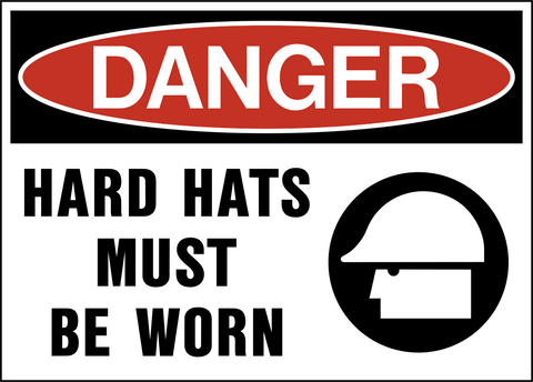 Danger - Head Protection