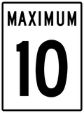 RB-1 - Maximum Speed Limit