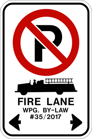 RB-52-1 - No Parking Fire Lane