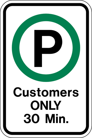 Parking - Customers Only