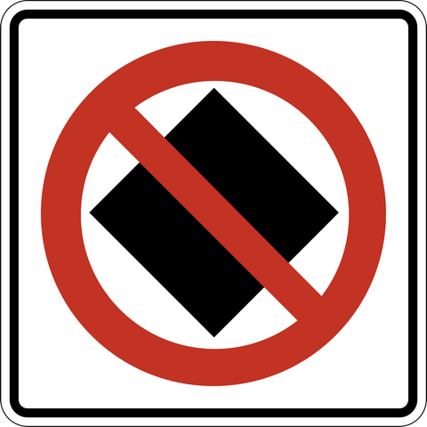 RB-70 No Dangerous Goods Allowed Ahead