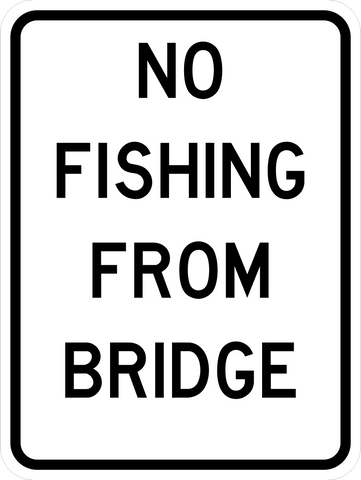 RC-2 No Fishing from Bridge