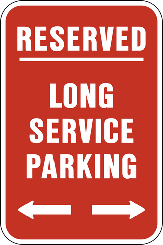 Reserved Employee Long Service