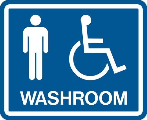 Men & Accessible Washroom