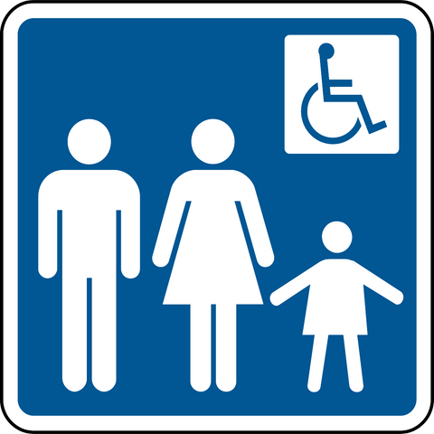 Family & Accessible Washroom