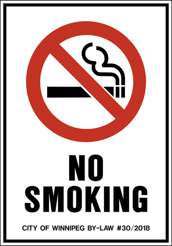 No Smoking with By-Law #