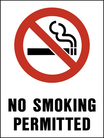No Smoking Permitted