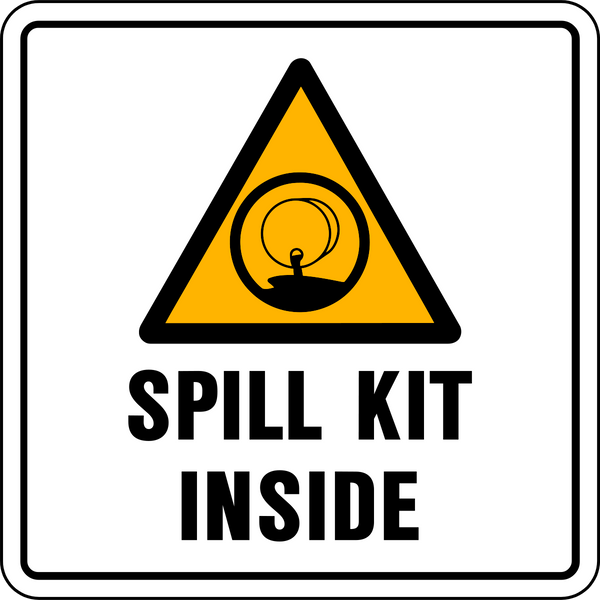 Spill Kit Page 2 Western Safety Sign