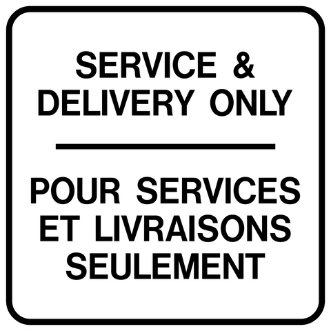 Delivery Traffic Bilingual