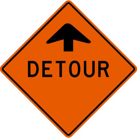 TC-10 Detour Ahead