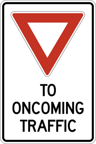 TC-17 Yield to Oncoming Traffic