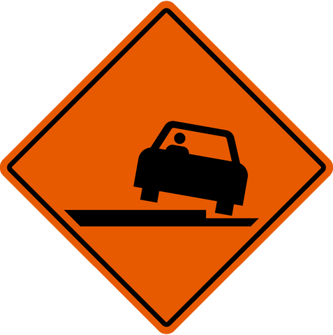 TC-49 Pavement Drop Off