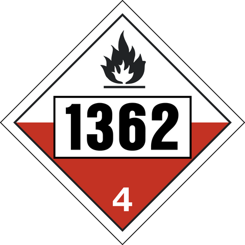 Class 4 - Spontaneous Combustible - Carbon Activated UN#1362