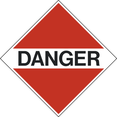 Class 9 - Danger - Dangerous Goods - Miscellaneous Hazardous Materials