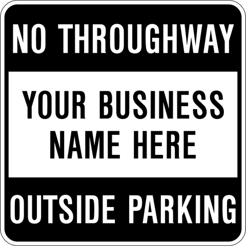No Throughway