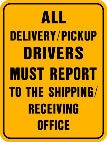 Drivers Must Report