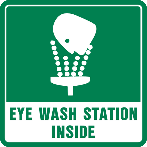 Eye Wash Station Inside-A