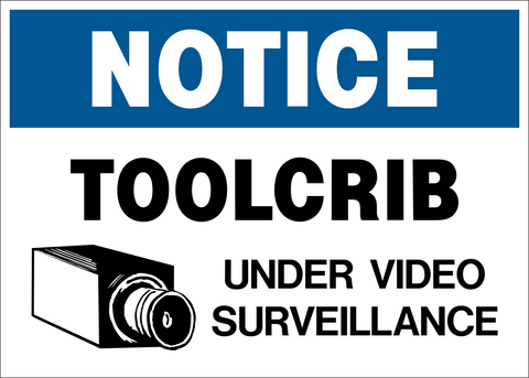 Video Surveillance Toolcrib