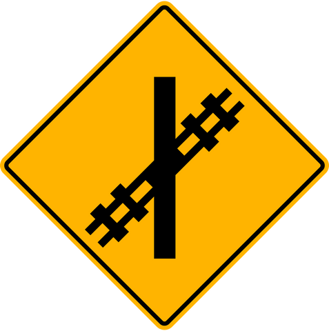 WA-18 L Railway Crossing
