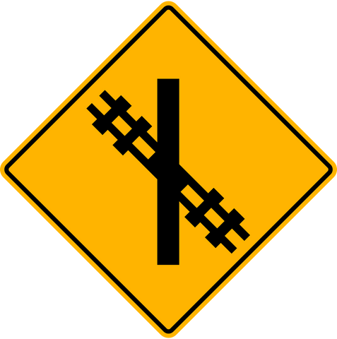 WA-18 R Railway Crossing