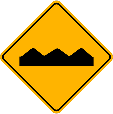 WA-22 Bumps Ahead
