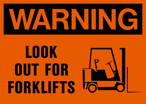 Warning - Forklifts