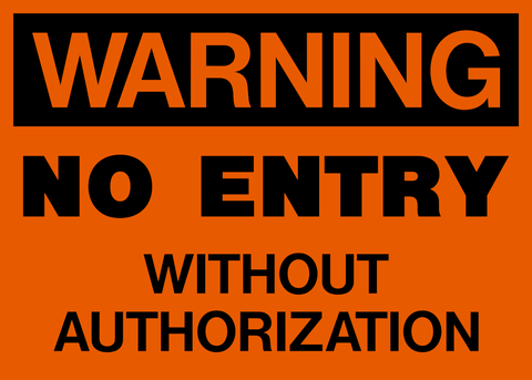 Warning Tagged Quot Filter By Keyword Authorized Personnel