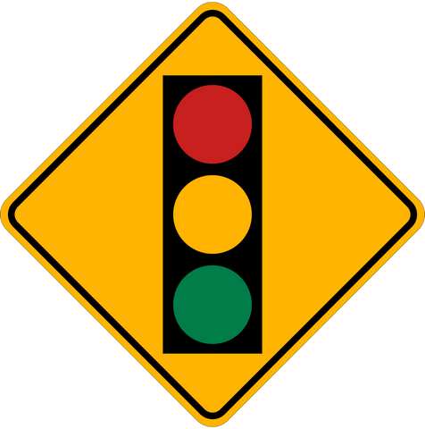 WB-4 Traffic Light Ahead