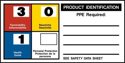 Product Identification Label