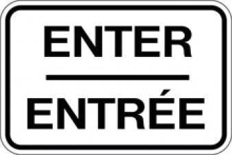 BIL-2 - Enter / Entree Bilingual