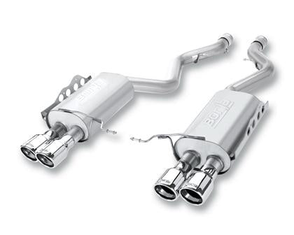S-Type Cat-Back Dual Split Rear Exit Exhaust System