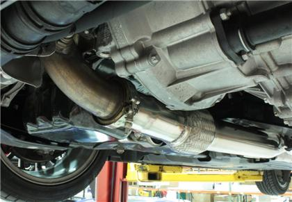Downpipe Back Exhaust