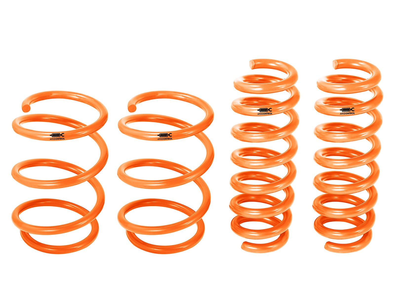 aFe POWER 335i/435i (F30/F32) 12-16 Orange aFe Control Lowering Springs - Bimmer Performance Center