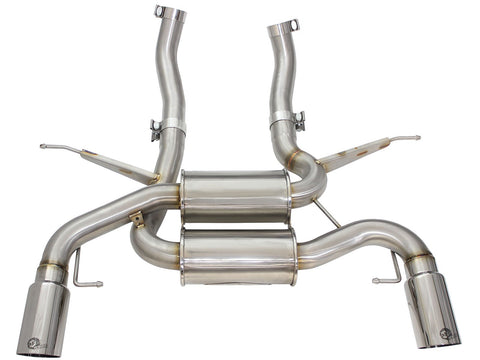aFe POWER 335i (E90/92) 07-13 L6-3.0L (tt) N54/(t) N55 MACH Force-Xp Axle-Back Exhaust System - Bimmer Performance Center