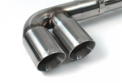 Brushed Dual Tip Exhaust