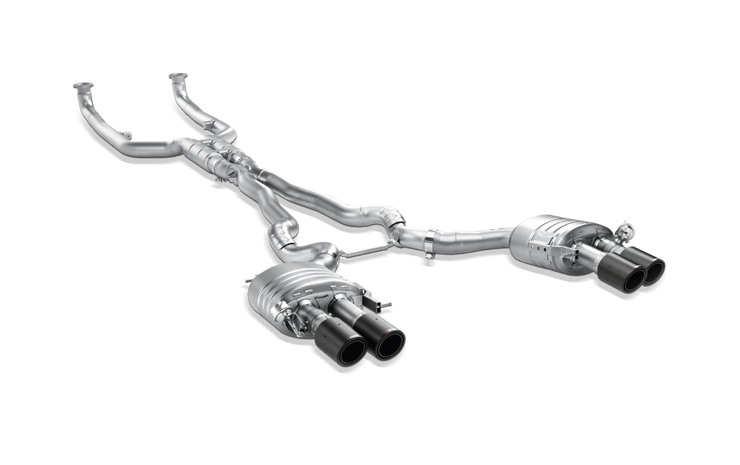 EVOLUTION TITANIUM EXHAUST SYSTEM
