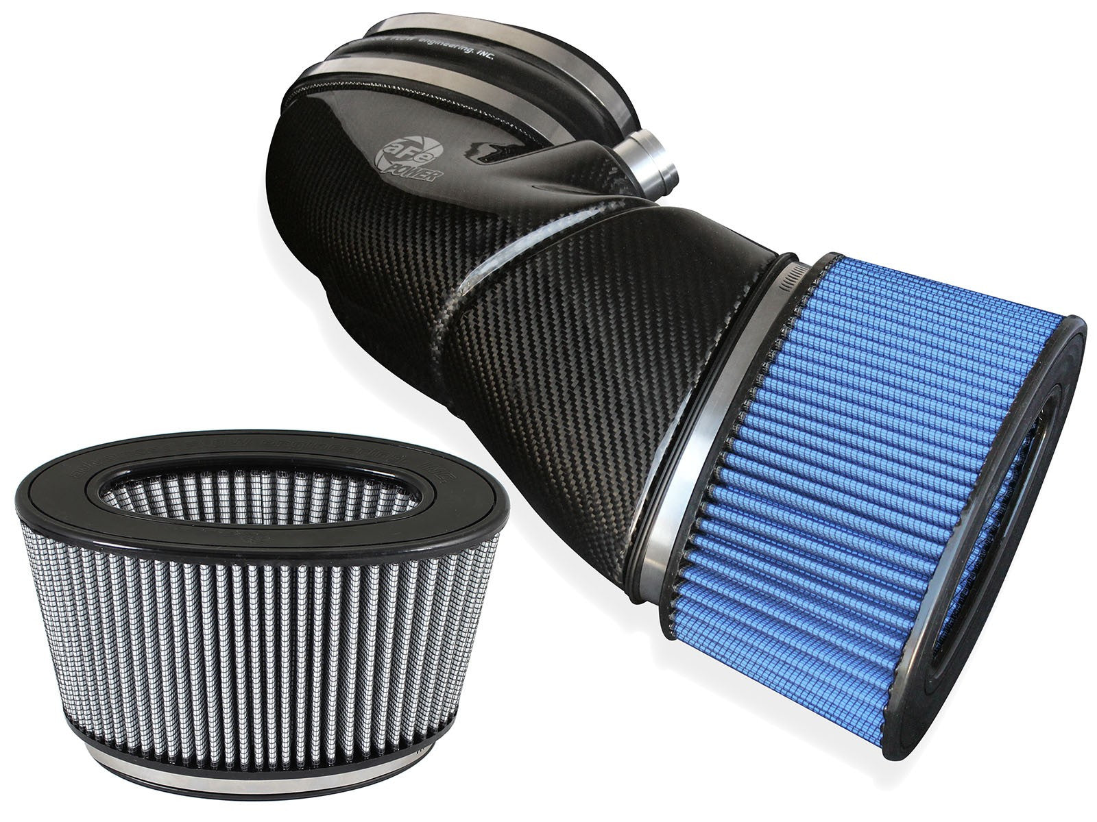 aFe POWER E9X M3 Magnum FORCE Stage-2 Carbon Fiber Cold Air Intake System - Bimmer Performance Center
