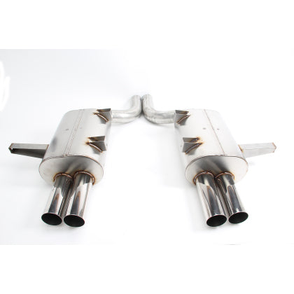 Free Flow Stainless Steel Exhaust